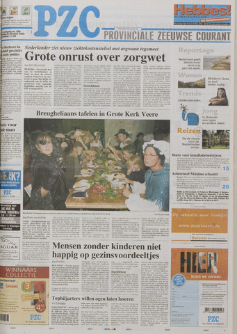 Provinciale Zeeuwse Courant 2005-10-22