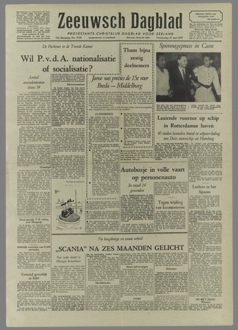 Zeeuwsch Dagblad 1957-06-27