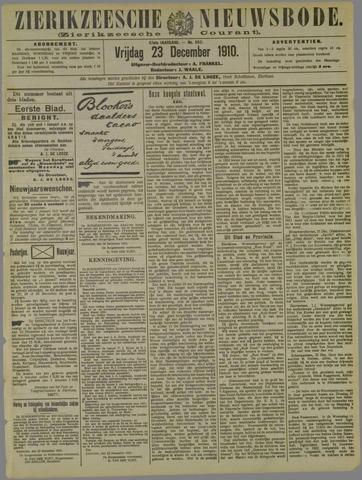 Zierikzeesche Nieuwsbode 1910-12-23