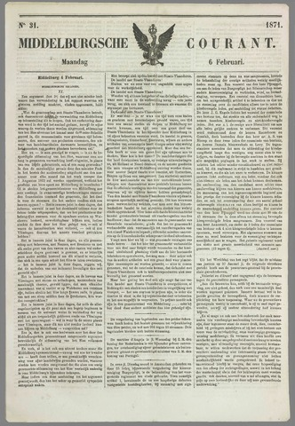 Middelburgsche Courant 1871-02-06