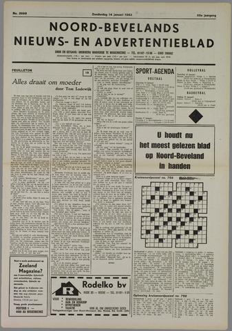 Noord-Bevelands Nieuws- en advertentieblad 1982-01-14
