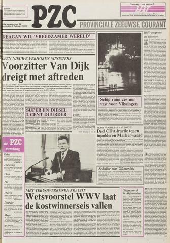 Provinciale Zeeuwse Courant 1985-02-07
