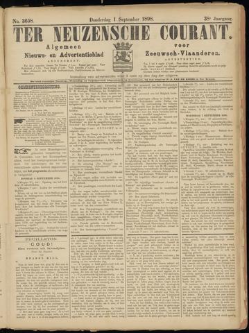 Ter Neuzensche Courant. Algemeen Nieuws- en Advertentieblad voor Zeeuwsch-Vlaanderen / Neuzensche Courant ... (idem) / (Algemeen) nieuws en advertentieblad voor Zeeuwsch-Vlaanderen 1898-09-01