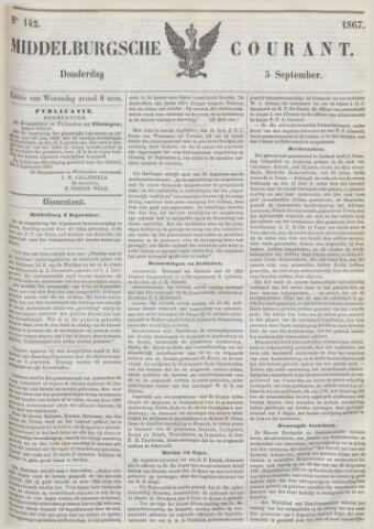 Middelburgsche Courant 1867-09-05