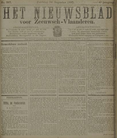 Nieuwsblad voor Zeeuwsch-Vlaanderen 1897-08-14