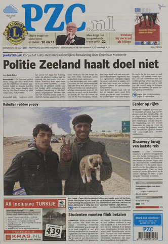 Provinciale Zeeuwse Courant 2011-03-10