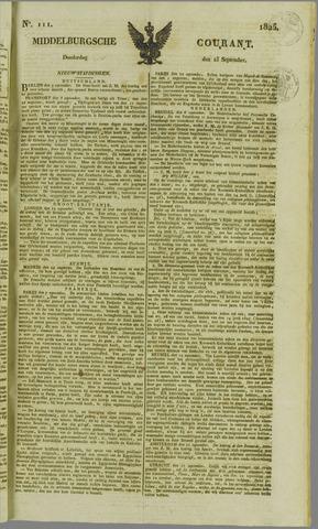 Middelburgsche Courant 1825-09-15
