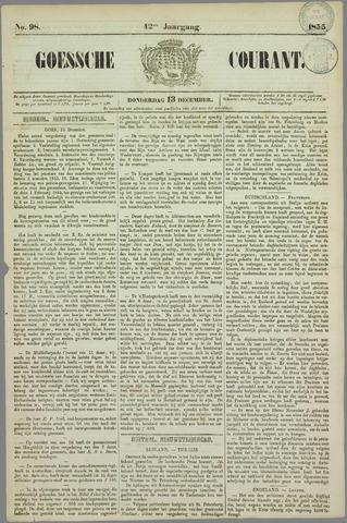 Goessche Courant 1855-12-13