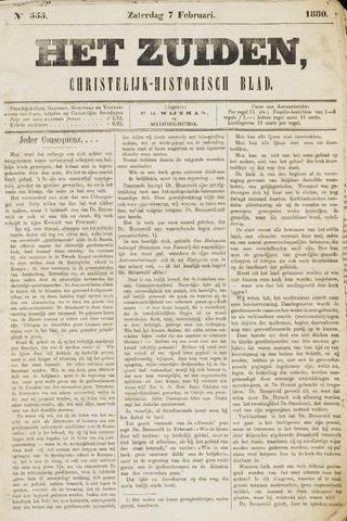 Het Zuiden, Christelijk-historisch blad 1880-02-07