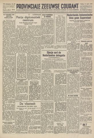 Provinciale Zeeuwse Courant 1948-04-16