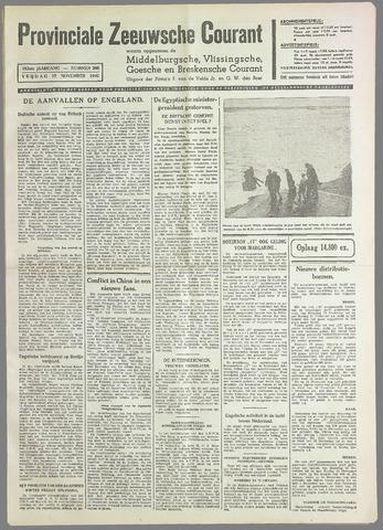Provinciale Zeeuwse Courant 1940-11-15