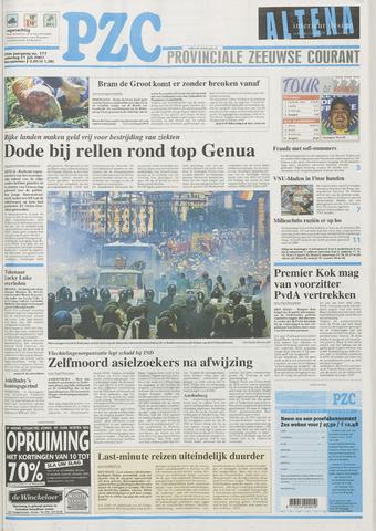 Provinciale Zeeuwse Courant 2001-07-21