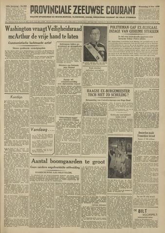 Provinciale Zeeuwse Courant 1950-11-08