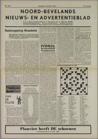 Noord-Bevelands Nieuws- en advertentieblad 1967-12-09