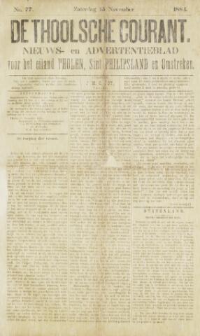 Ierseksche en Thoolsche Courant 1884-11-15