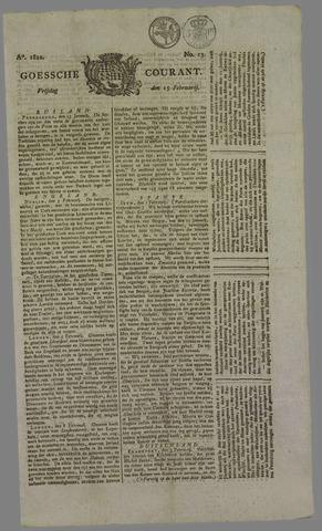 Goessche Courant 1822-02-15