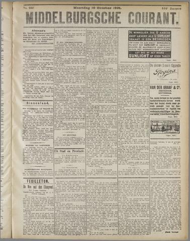 Middelburgsche Courant 1921-10-10