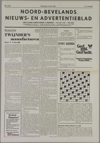 Noord-Bevelands Nieuws- en advertentieblad 1984-07-19
