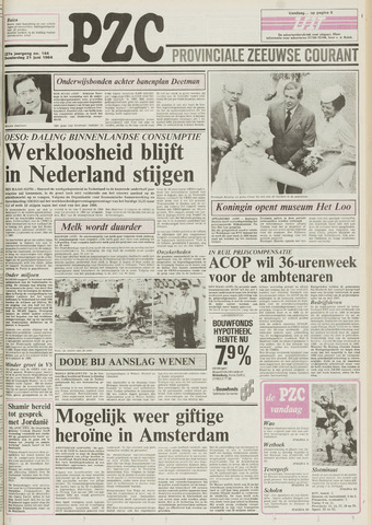 Provinciale Zeeuwse Courant 1984-06-21