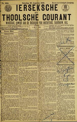 Ierseksche en Thoolsche Courant 1910-08-20