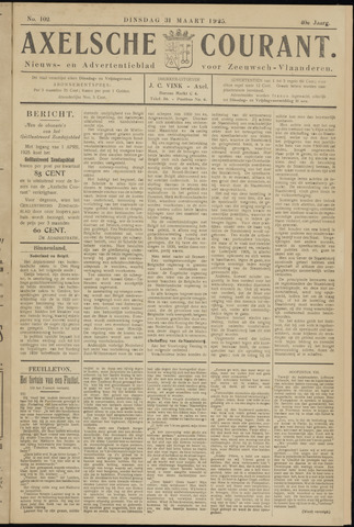 Axelsche Courant 1925-03-31