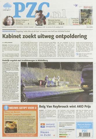 Provinciale Zeeuwse Courant 2010-11-09