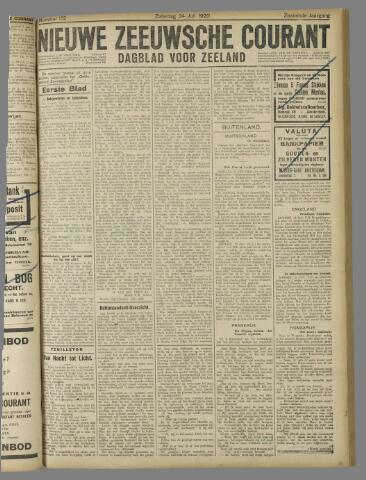 Nieuwe Zeeuwsche Courant 1920-07-24