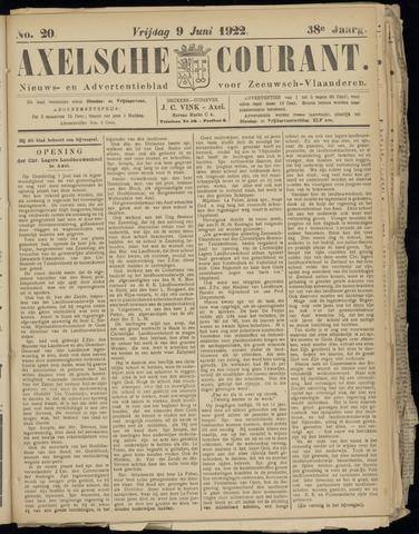 Axelsche Courant 1922-06-09