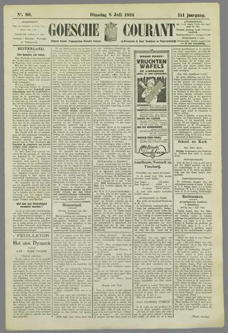 Goessche Courant 1924-07-08