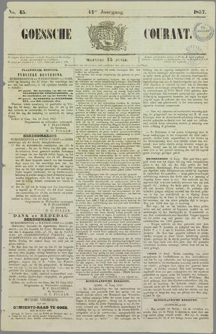 Goessche Courant 1857-06-15