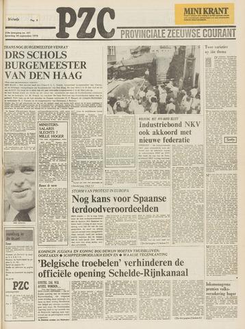 Provinciale Zeeuwse Courant 1975-09-20