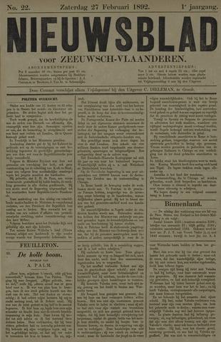 Nieuwsblad voor Zeeuwsch-Vlaanderen 1892-02-27