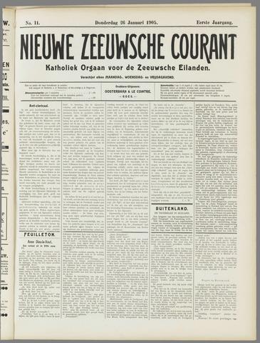 Nieuwe Zeeuwsche Courant 1905-01-26