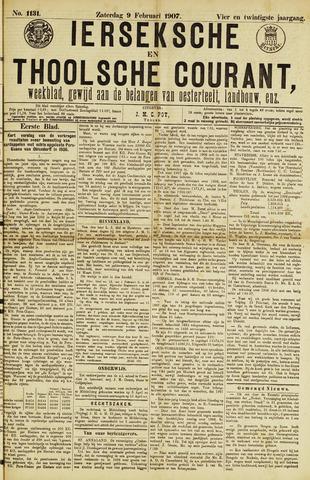 Ierseksche en Thoolsche Courant 1907-02-09