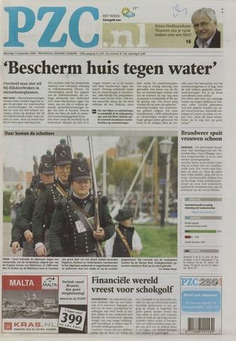 Provinciale Zeeuwse Courant 2008-09-15