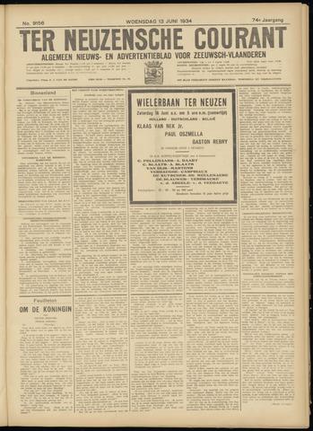 Ter Neuzensche Courant. Algemeen Nieuws- en Advertentieblad voor Zeeuwsch-Vlaanderen / Neuzensche Courant ... (idem) / (Algemeen) nieuws en advertentieblad voor Zeeuwsch-Vlaanderen 1934-06-13