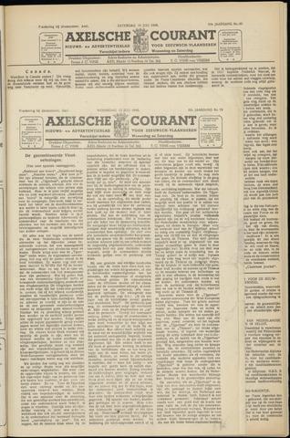 Axelsche Courant 1949-07-13