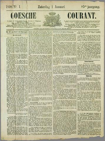 Goessche Courant 1898