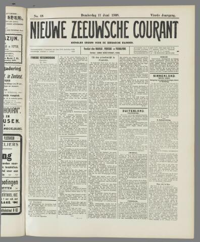 Nieuwe Zeeuwsche Courant 1908-06-11