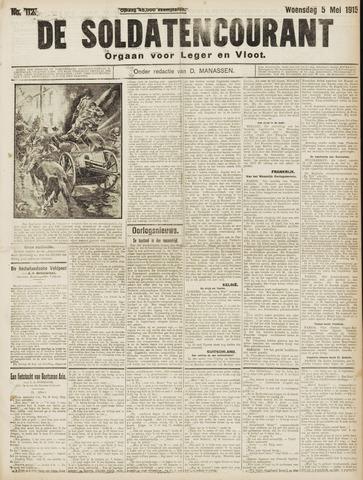 De Soldatencourant. Orgaan voor Leger en Vloot 1915-05-05