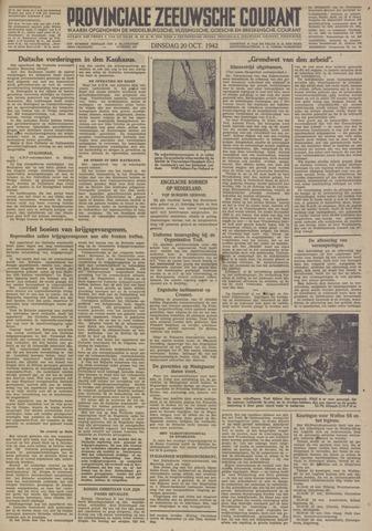 Provinciale Zeeuwse Courant 1942-10-20