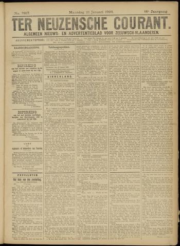 Ter Neuzensche Courant. Algemeen Nieuws- en Advertentieblad voor Zeeuwsch-Vlaanderen / Neuzensche Courant ... (idem) / (Algemeen) nieuws en advertentieblad voor Zeeuwsch-Vlaanderen 1926-01-25