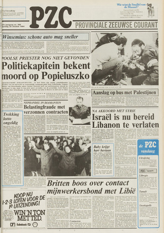 Provinciale Zeeuwse Courant 1984-10-29