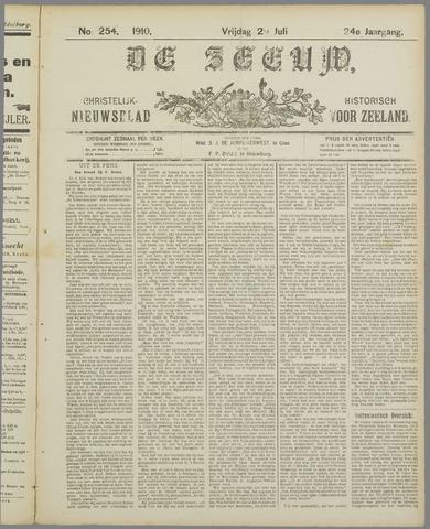 De Zeeuw. Christelijk-historisch nieuwsblad voor Zeeland 1910-07-29