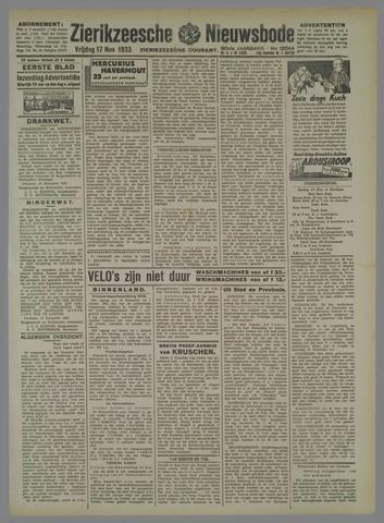 Zierikzeesche Nieuwsbode 1933-11-17