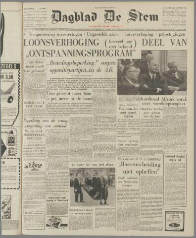 de Stem 1963-10-03