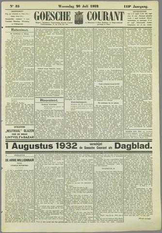 Goessche Courant 1932-07-20
