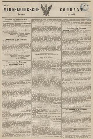 Middelburgsche Courant 1852-07-31