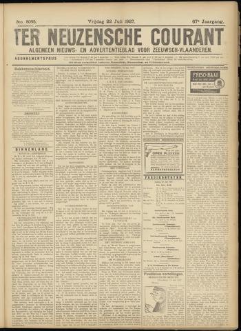 Ter Neuzensche Courant. Algemeen Nieuws- en Advertentieblad voor Zeeuwsch-Vlaanderen / Neuzensche Courant ... (idem) / (Algemeen) nieuws en advertentieblad voor Zeeuwsch-Vlaanderen 1927-07-22