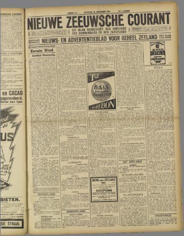 Nieuwe Zeeuwsche Courant 1924-09-20